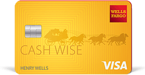 Wells Fargo Cash Wise best personal credit cards