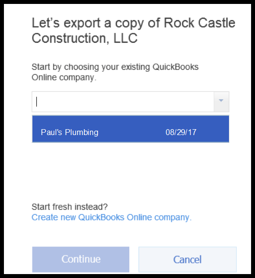 How to convert from quickbooks desktop to online export quickbooks desktop company file to online ccuart Choice Image
