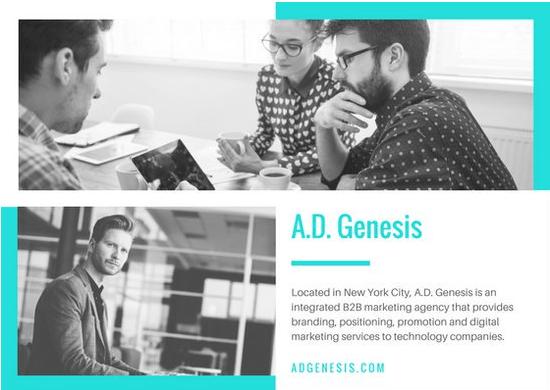 Adgenesis-Free Postcard Templates