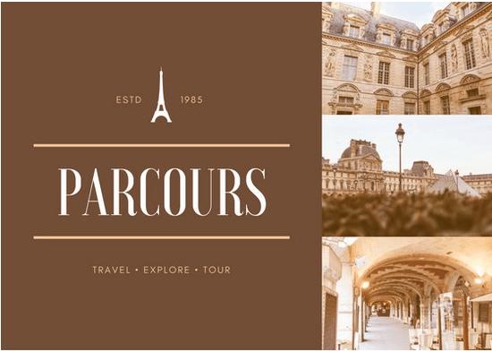 Parcours-Free Postcard Templates