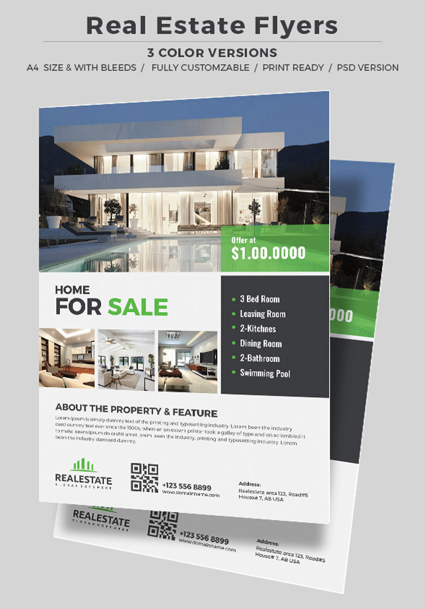 real Estate Flyers-CorporateRealEstate