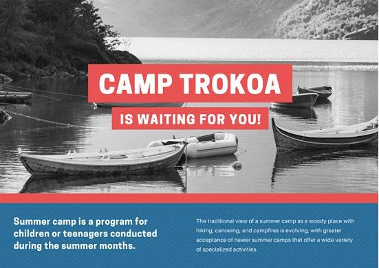 CanvaCampTrokoa-Free Postcard Templates