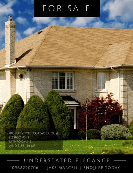real Estate Flyers-CottageHouseRealState