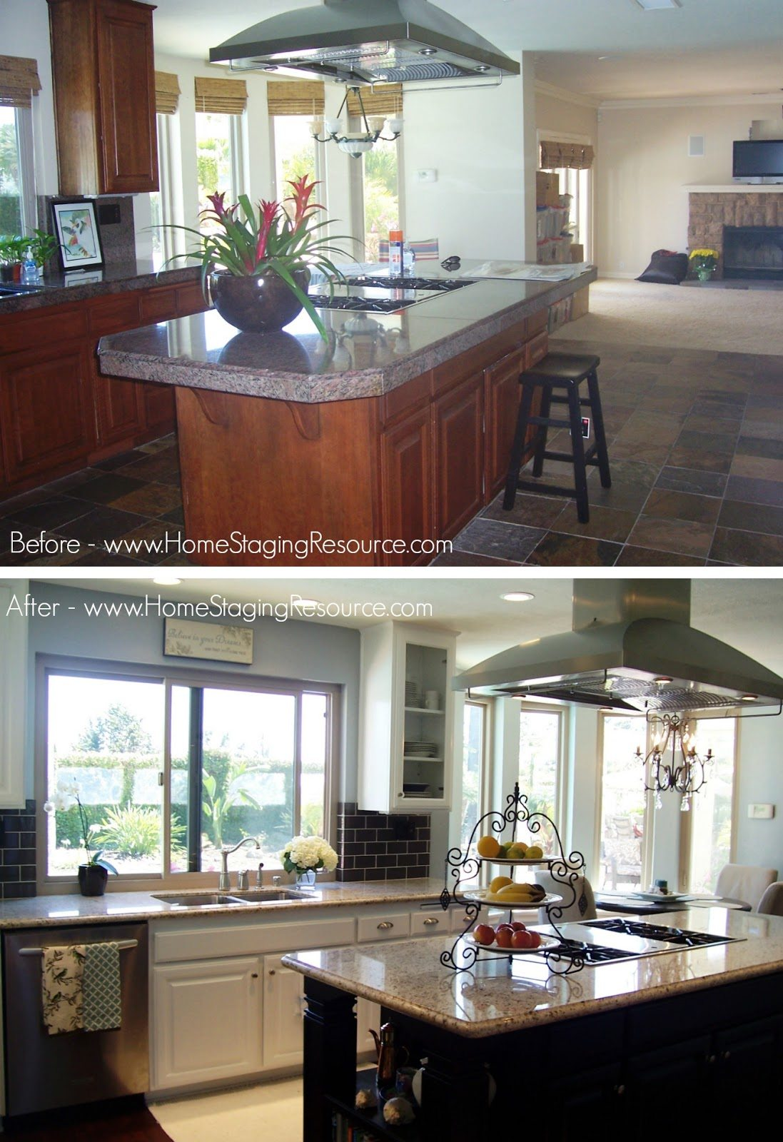 BA Kitchen Home Staging