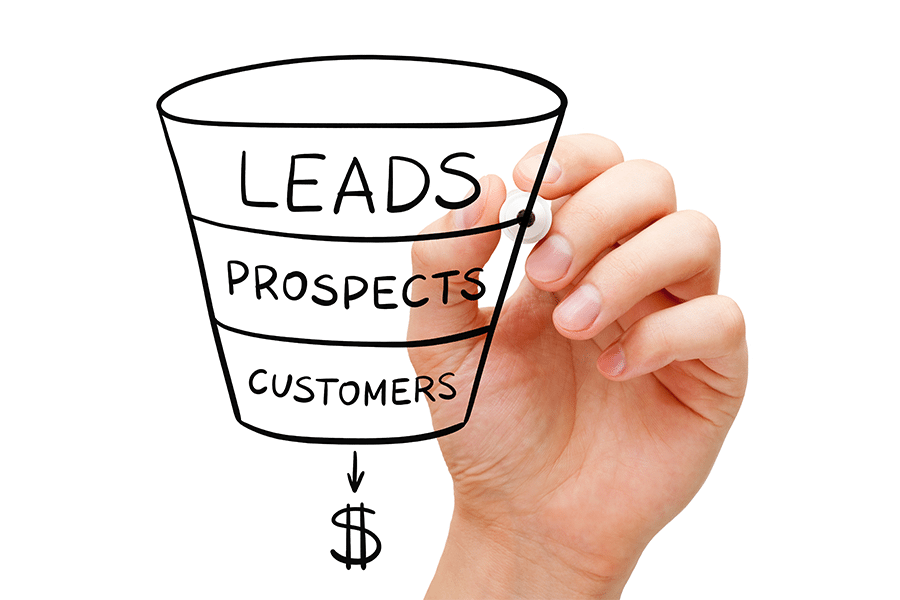 sales funnel templates definition stages