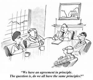 partnership agreement comic
