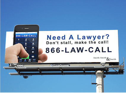 Billboard Design - Vanity Phone Number
