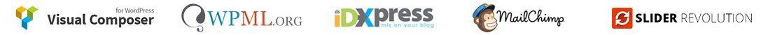 IDX Real Estate Websites - logos