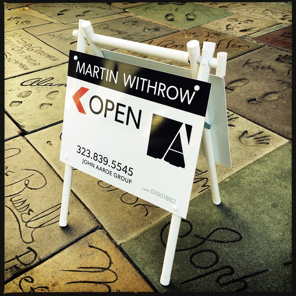 sleek and minimal open house signs - Open House Signs