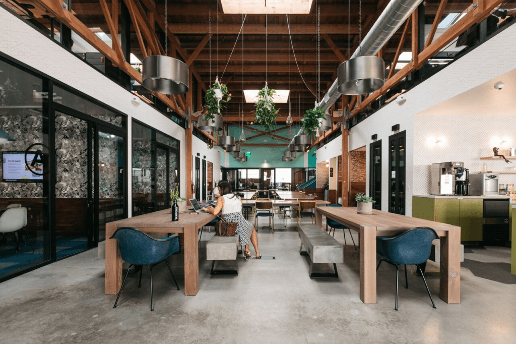 WeWork office in Los Angeles, CA
