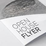 Free customizable open house flyers and template