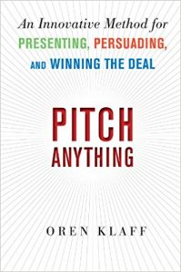 Pitch Anything-Best Sales Books