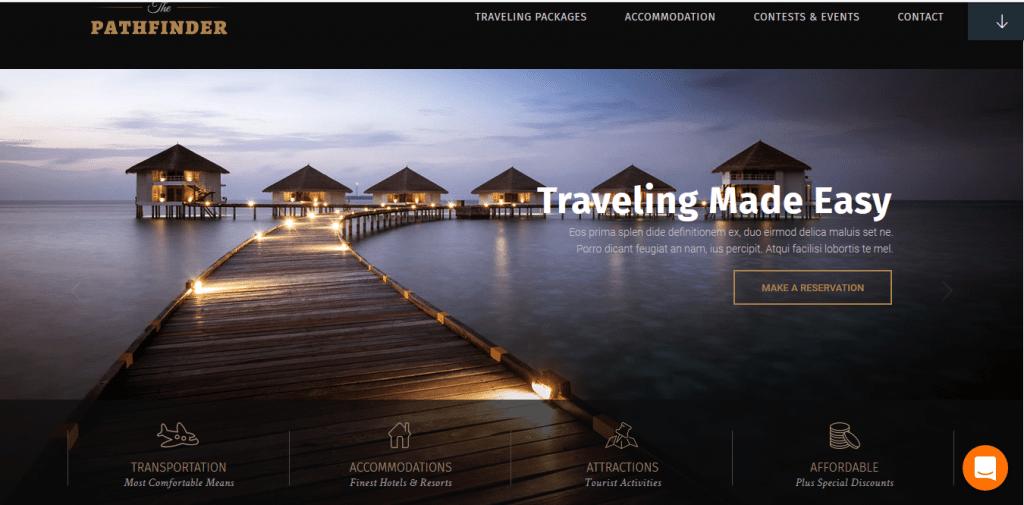TheCore wordpress travel themes