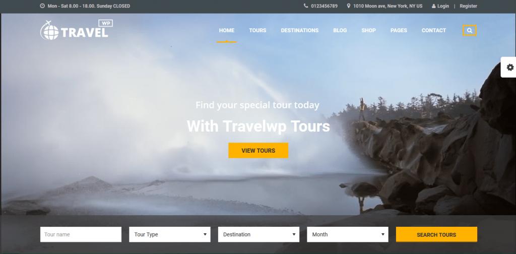 Travel WP wordpress travel themes