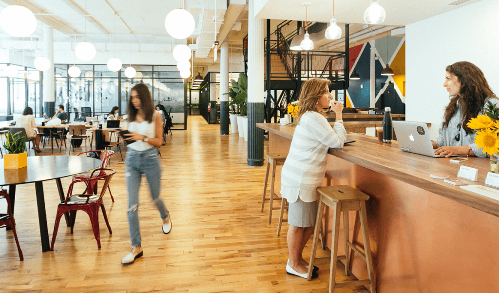 WeWork office in New York City