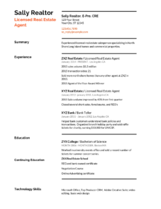 Real Estate Resume: Templates, Samples & How to Write