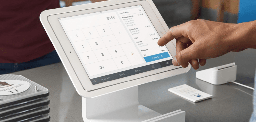 Accept credit cards with Square POS