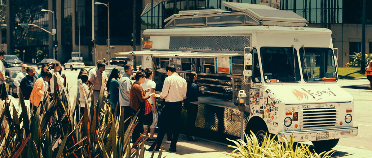ethnic fusion concept for food truck