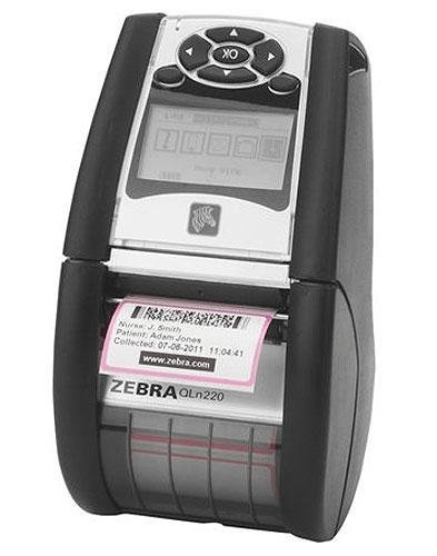 print barcode labels on portable thermal printers