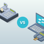 POS cash registers vs basic electronic cash registers