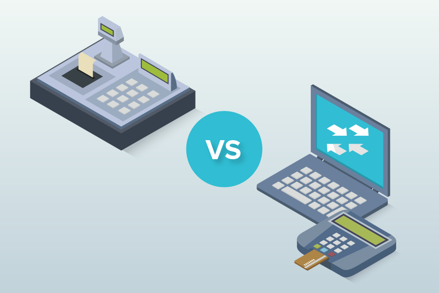 Pos System Vs Cash Register What S Best For Retailers