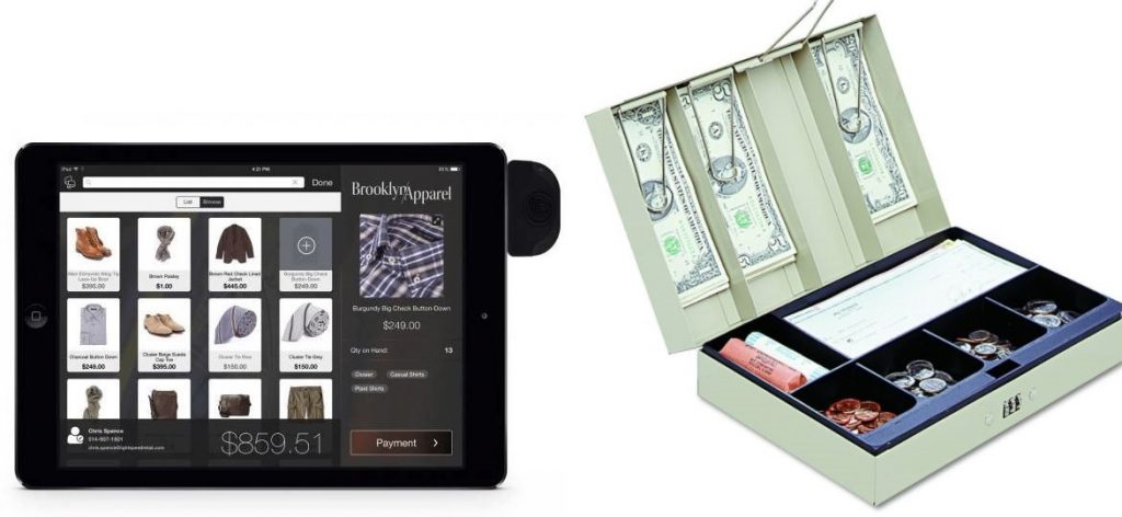 POS Cash Register - a portable solution