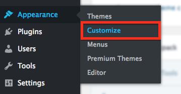 Salon Website: Customize Button