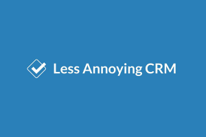 Less Annoying CRM Reviews