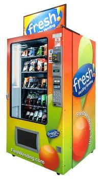 Fresh Snacks and Drinks Vending Machine