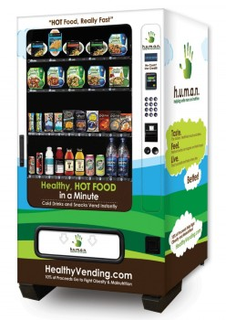 Hot Food and Cold Drinks Vending Machine