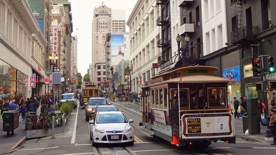 San Francisco - third in best cities for real estate agents