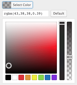 Salon Website: Select Colors
