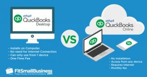 QuickBooks Online vs Desktop Comparison
