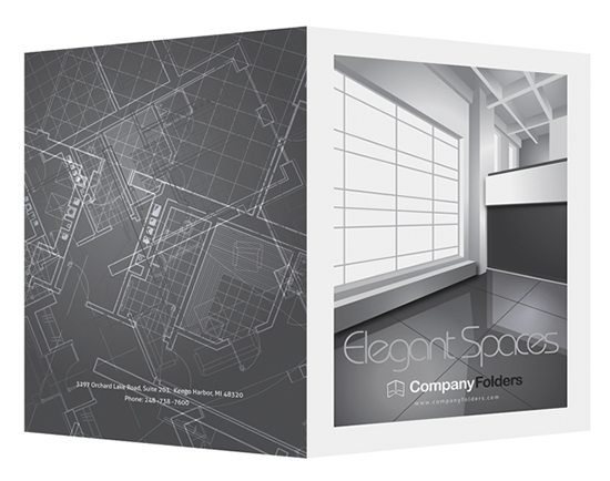 elegant-spaces-architect-folder-template - pocket folder templates
