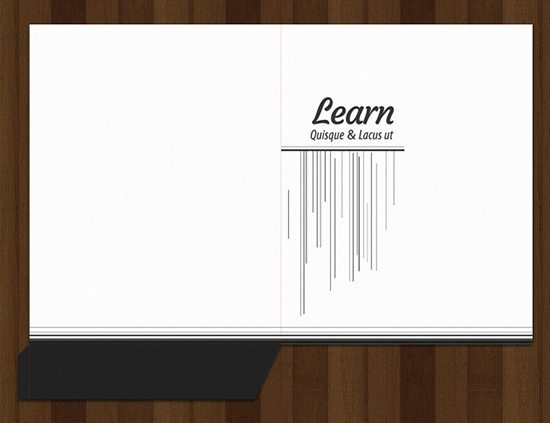 learn - pocket folder templates