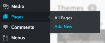 Salon Website: Add new page