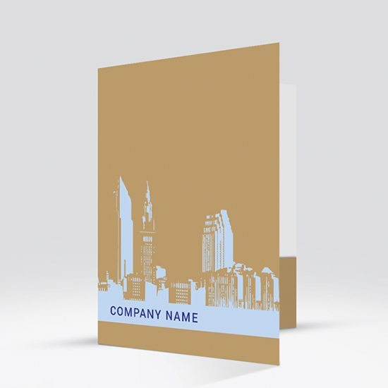 skyline-silhouette - pocket folder templates