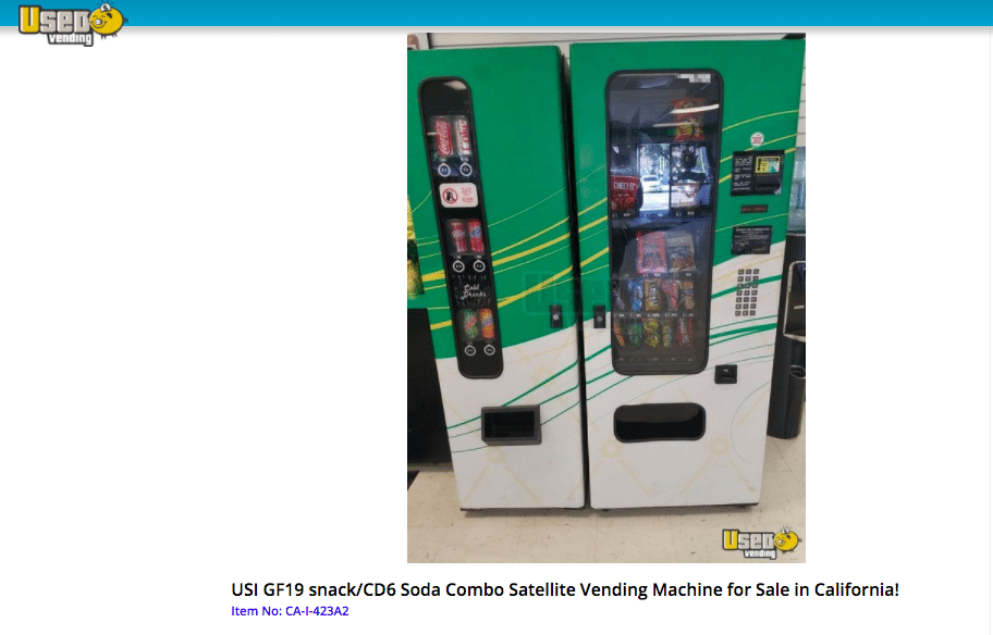 sample vending machine - Vending Machines for Sale