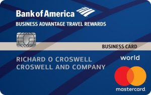 Bank of America Business Advantage Travel 0 business credit card