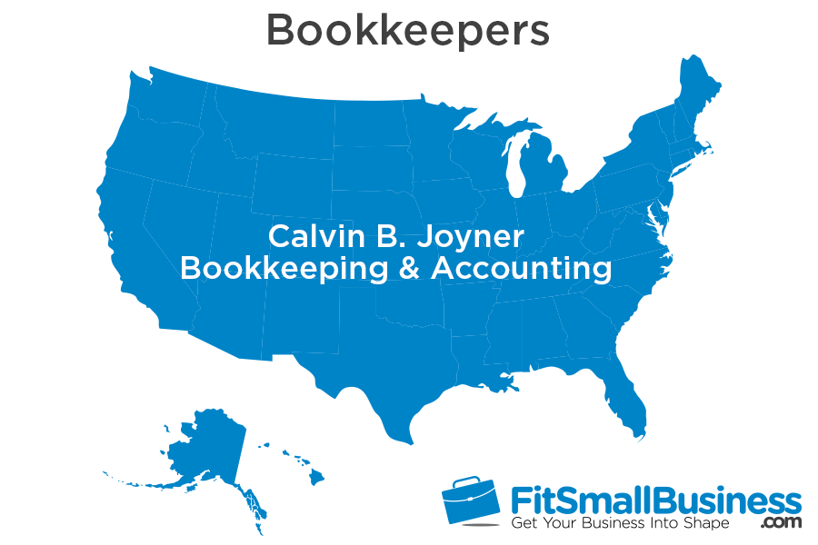 Calvin B Joyner Bookkeeping Accounting Reviews Services