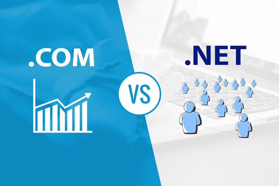 com vs net the difference between domain extensions 2018
