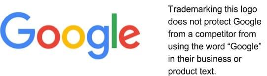 Screenshot of Google Trademark Logo