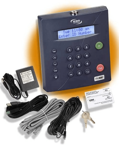 Icon RTC 1000 Digital employee time clock