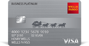 Wells Fargo Business Platinum Credit Card details