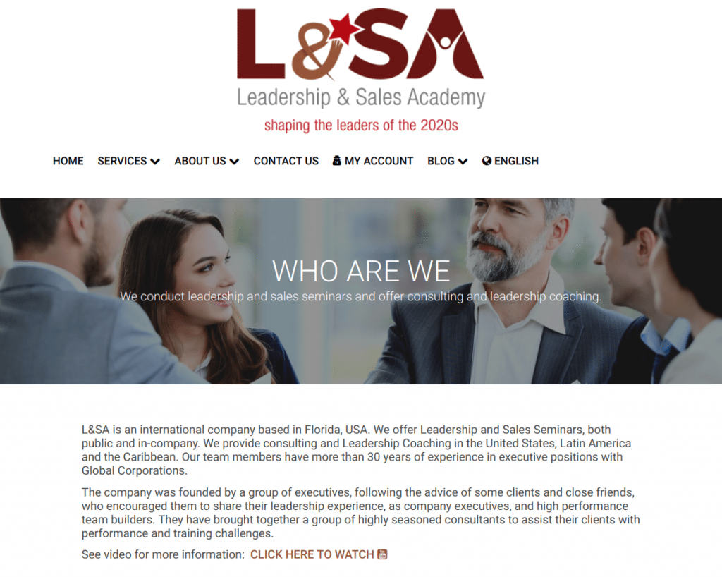 L&SA Business Coaching Services