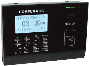 Digital time clock Compumatic XLS 21- employee time clock