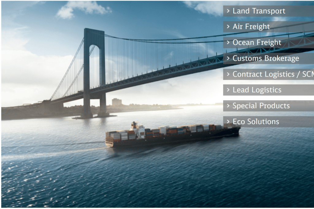3pl Companies - dB Schenker global 3pl companies logistics