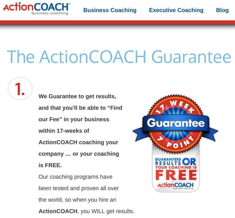 ActionCOACH Business Coaching Services