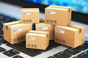 six small boxes