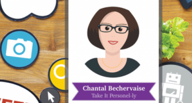 Take It Personel-ly - Logo - Chantal Beckervaise - Best HR Blogs